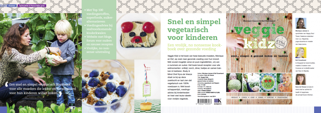 Veggie Kidz in brochure uitgeverij Kosmos