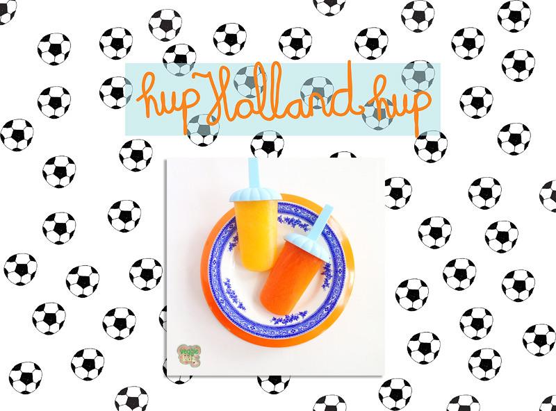 Maak zelf je eigen WK-ijsjes! #veggiekidz