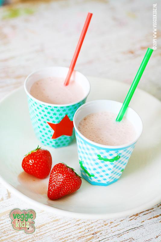 aardbeien smoothie #aardbeiensmoothie