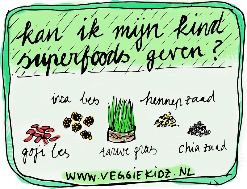 Superfoods kinderen, Kan ik mijn kind superfoods geven? Veggiekidz.nl
