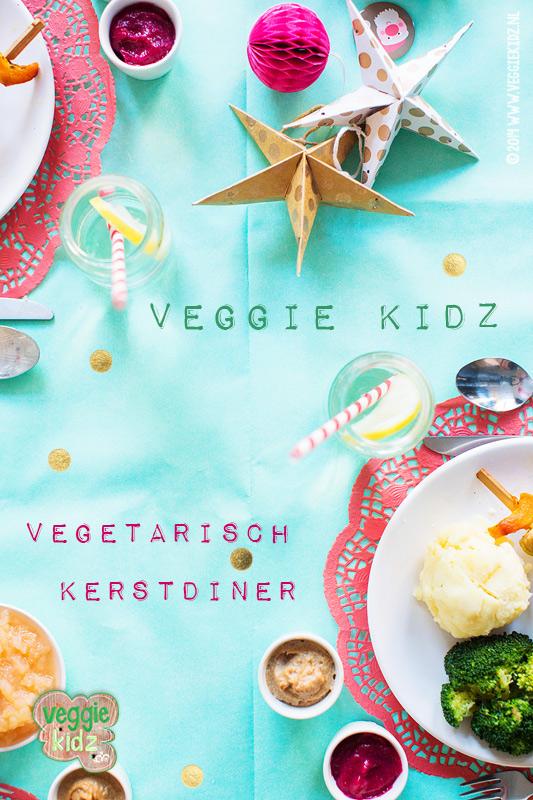 vegetarisch kerstmenu voor kinderen