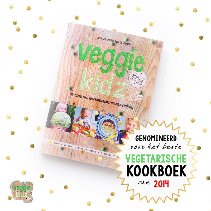 Genomineerd voor vegetarische kookboek van het jaar 2014