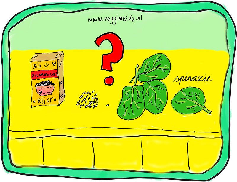 spinazie opwarmen