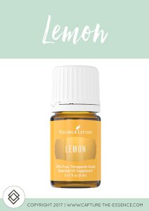 LEMON, YOUNG LIVING ESSENTIAL OILS