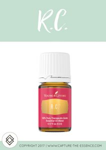R.C. YOUNG LIVING ESSENTIAL OILS